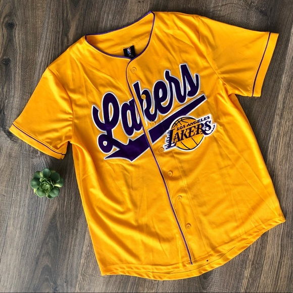NBA Shirts | Large Nba La Lakers Mens Jersey | Poshmark